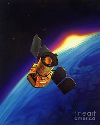 Galaxy Evolution Explorer Digital Art - Artists Concept Of Galaxy Evolution by Stocktrek Images