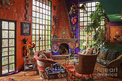 Artists Sitting Room Art Print by Jeremy Woodhouse