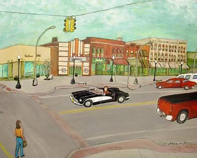 Arts Of Lapeer Art Print by Sharon Lee Samyn