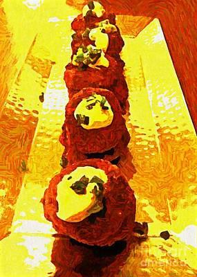 Photograph - Artsy Kebabs by Ankeeta Bansal