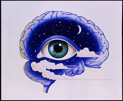 Sleep Disorder Photograph - Artwork Of Insomnia by John Bavosi