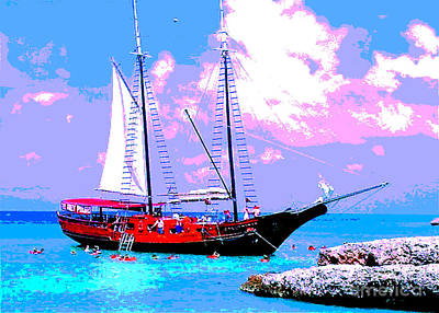 Aruba Adventure Art Print by Jerome Stumphauzer