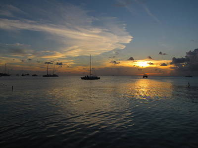 Photograph - Aruba Sunset 1 by Keith Stokes