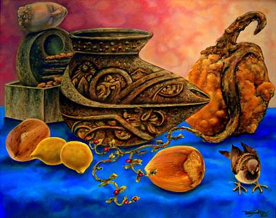 Painting - As Dreams Are Made  by Terry Jackson