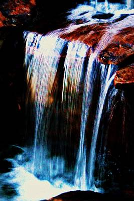 Photograph - As The Water Falls by Hannah Miller