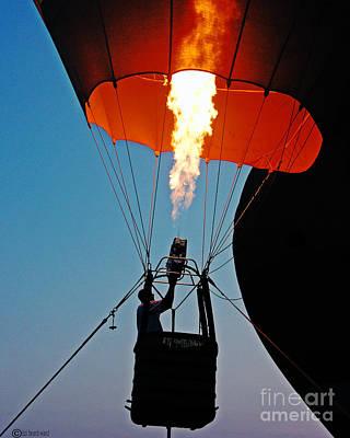 Photograph - Ascension Flames by Lizi Beard-Ward