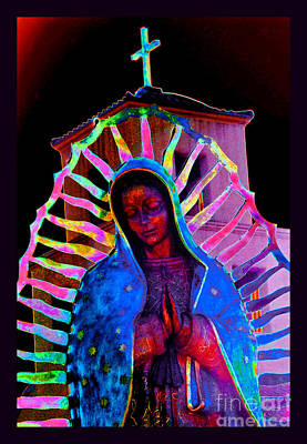 Ascension Virgin Of Guadalupe Art Print by Susanne Still