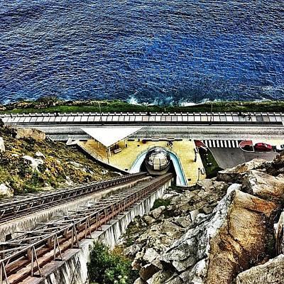Iphone 4 Photograph - Ascensor De Cristal Del Monte De San by Maria Aavecma