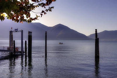 Lake View Photograph - Ascona - Lago Maggiore by Joana Kruse