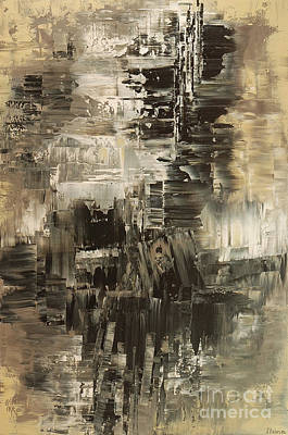 Painting - Ash And Oil by Tatiana Iliina