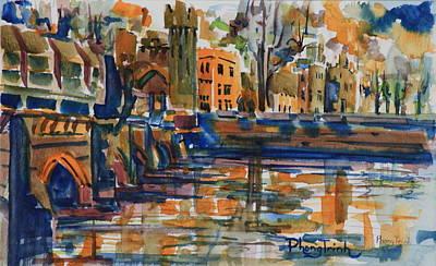 Phong Trinh Painting - Ashford 2 by Phong Trinh