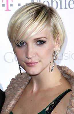 Ashlee Simpson At Arrivals For T-mobile Art Print by Everett