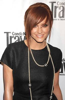 Phillip Lim Photograph - Ashlee Simpson Wearing A 3.1 Phillip by Everett