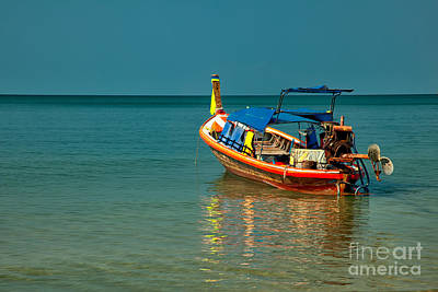 Photograph - Asian Longboat  by Adrian Evans
