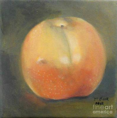 Painting - Asian Pear by Marlene Book