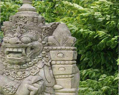 Photograph - Asian Statue II by Donna G Smith