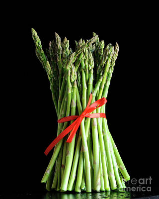 Photograph - Asparagus by Nancy Greenland