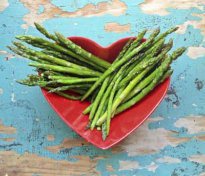 Y120831 Photograph - Asparagus by Sarah Palmer