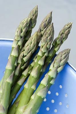 Aphrodisiac Photograph - Asparagus Spears by Jon Stokes