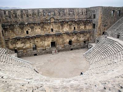 Aspendos Roman Theatre Art Print by