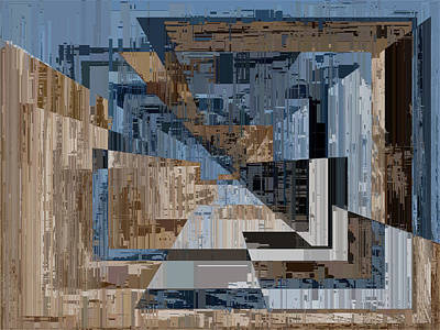 Digital Art - Aspiration Cubed 2 by Tim Allen