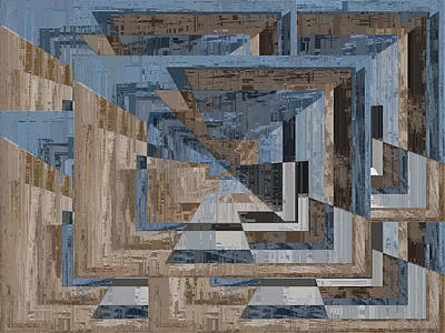 Digital Art - Aspiration Cubed 3 by Tim Allen