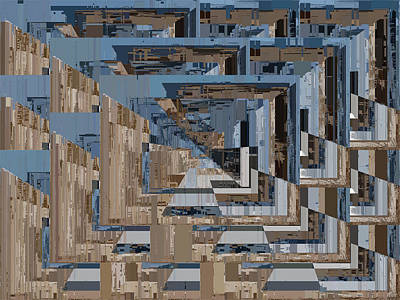 Digital Art - Aspiration Cubed 4 by Tim Allen