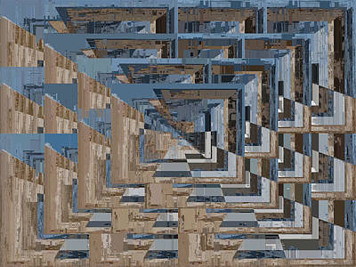 Digital Art - Aspiration Cubed 5 by Tim Allen
