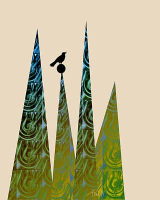 Aspire Art Print by Ann Powell