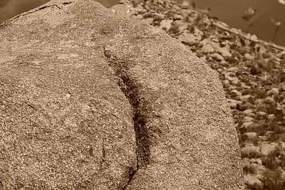 Photograph - Ass Crack New Mexico In Sepia by Rob Hans