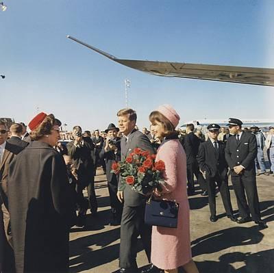 Assassination Of President Kennedy Print by Everett