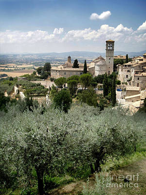 Assisi Italy - Bella Vista - 02 Art Print by Gregory Dyer