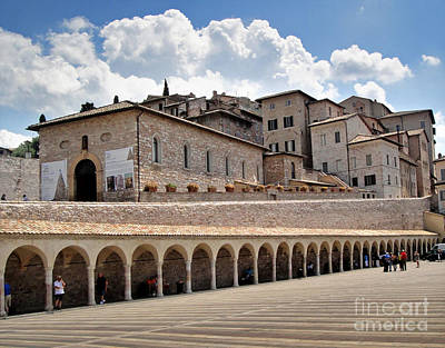 Assisi Italy Entrance Art Print by Gregory Dyer