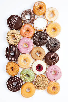Photograph - Assorted Donuts by Multi-bits