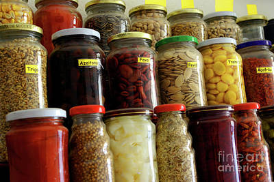 Assorted Spices Art Print by Carlos Caetano
