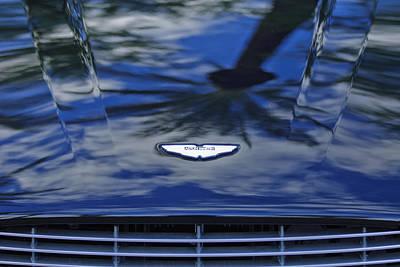 Photograph - Aston Martin Hood 2 by Jill Reger