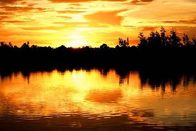 Photograph - Astonishing Sunset by Luis and Paula Lopez