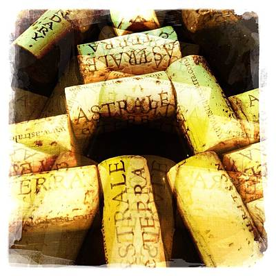 Instagood Photograph - Astrale Corks IIi by Penelope Moore