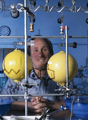 Ames Research Center Photograph - Astrochemistry Researcher by Volker Steger
