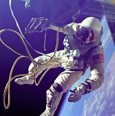 Astronaut Edward White During His 23 Art Print