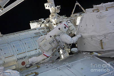 Photograph - Astronaut Participates In A Session by Stocktrek Images