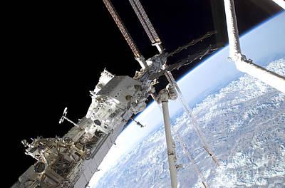 Photograph - Astronauts Assemble by Stocktrek Images