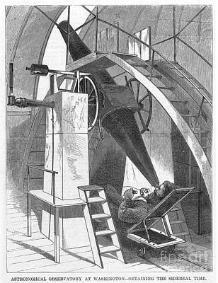 Astronomer, 1869 Art Print by Granger