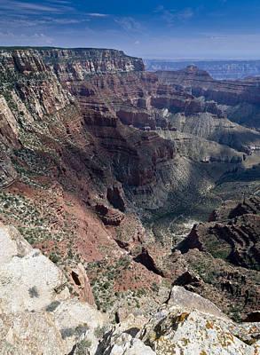 Photograph - At Cape Royal Grand Canyon by Gary Eason