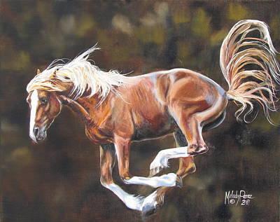 Melody Perez Painting - 'at Liberty' by Melody Perez