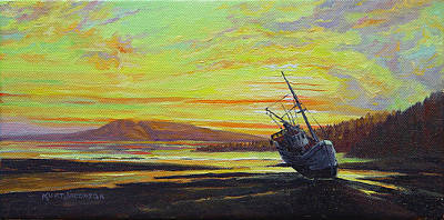 Painting - At Rest by Kurt Jacobson