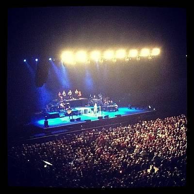 Concert Photograph - At Ronan Keating Live by Shay Narsey