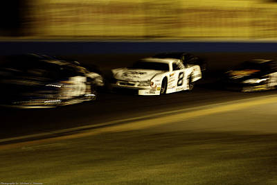 Art Print featuring the photograph At Speed by Michael Nowotny
