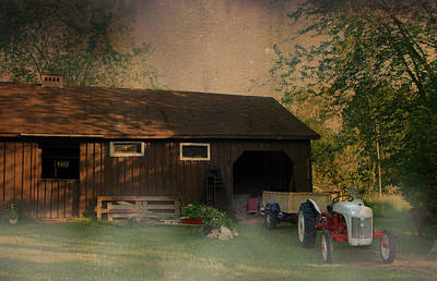 Photograph - At The Farm by Robin Webster