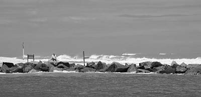 Fort Pierce Inlet Photograph - At The Inlet by Don Youngclaus